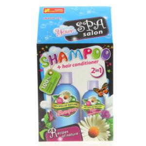 Výroba šampónu a kondicionéru 2v1