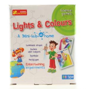 Domácí minilaboratoř - světla a barvy