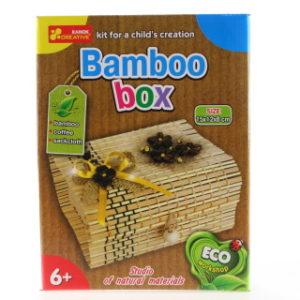 Výroba bambusové krabičky