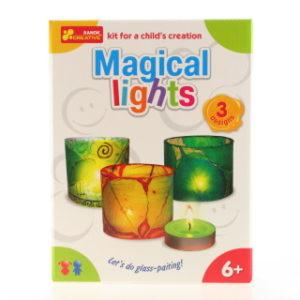 Výroba svícnů - magická světla