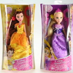 Disney Princess panenka s vlasovými doplňky
