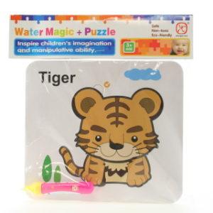 Vodní malování - Tygr