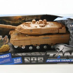 Tank baterie - hnědý