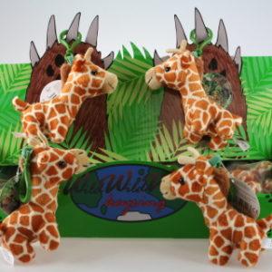 Plyš Žirafa klíčenka 24/bal