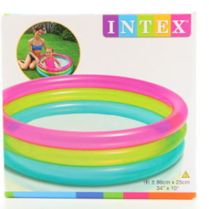 INTEX bazén kulatý 57104 86 x 25cm