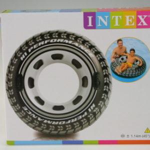 INTEX nafukovací kruh pneumatika 114cm 56268