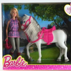 Barbie Panenka s koněm DHB68
