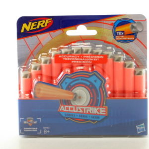 Nerf Accustrike náhradní šipky 12 ks