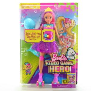Barbie Ve světě her hrací kamarádka DTW00 TV 1.3.-30.4.2017