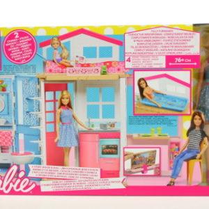 Barbie Dům 2 v 1 a panenka DVV48