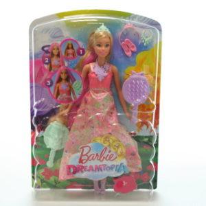 Barbie Kouzelné barevné vlasy DWH41