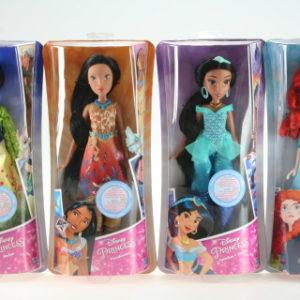 Disney Mulan, Merida, Pocahontas, Jasmin TV 1.5.- 30.6.2017