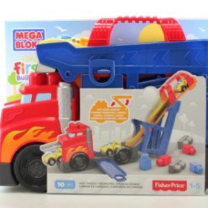 Mega Bloks auto s výsuvnou dráhou CND68