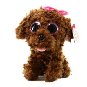 Beanie Boos MADDIE 15 cm - hnědý pejsek