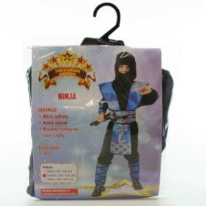 Šaty na karneval - Ninja, 120-130 cm