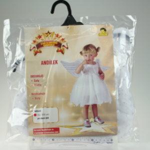 Šaty Andílek 92-104cm