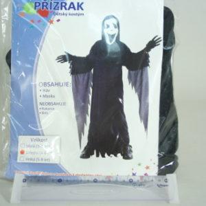 Šaty na karneval - Přízrak, 110-120 cm