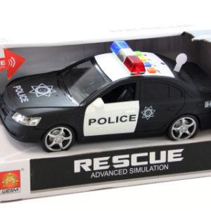 Policejní auto baterie