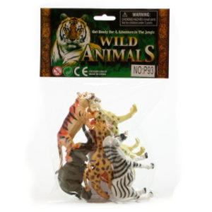 Safari zvířátka v sáčku
