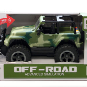 Jeep vojenský baterie