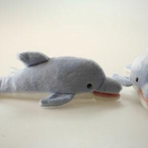 Plyš delfín sv.modrý
