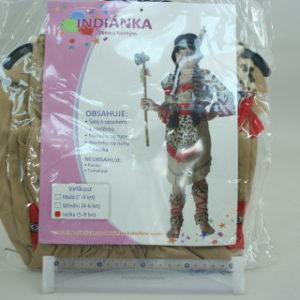 Šaty na karneval - Indiánka, 120-130 cm