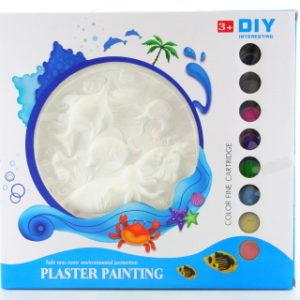 Malování sádra - moře