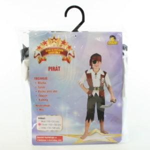 Šaty na karneval - Pirát, 120-130 cm