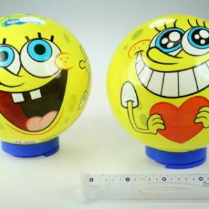 Míč SpongeBob - obličej 23cm