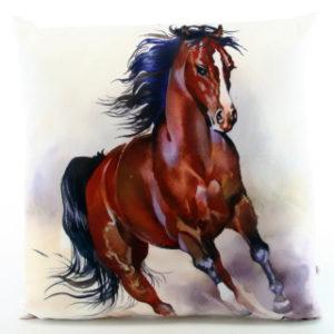 Polštářek fotopotisk kůň