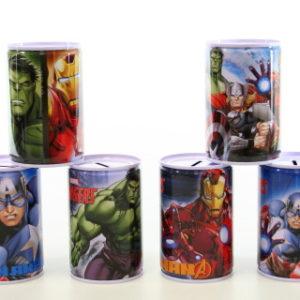 Kovová pokladnička Avengers
