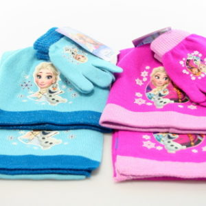 Zimní set šála, rukavice, čepice Frozen