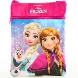 Taška Frozen lesklá růžová