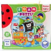 Pěnové puzzle 32 dílků Piráti