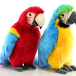 Plyš papoušek 27 cm 2