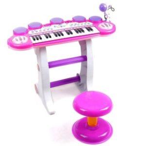 Multifunkční piáno se stoličkou