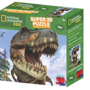 3D Puzzle T-Rex 150 dílků