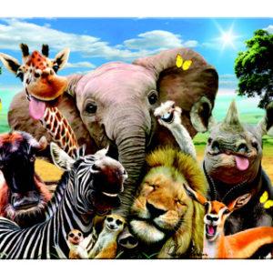 Magnet Africké selfie