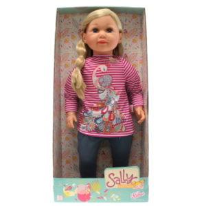 Sally blondýna