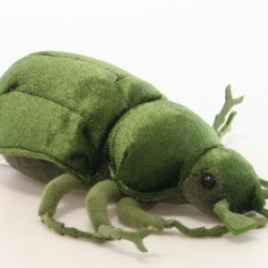Plyš brouk zelený velký