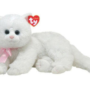 Classic CRYSTAL 33 cm - bílá kočka