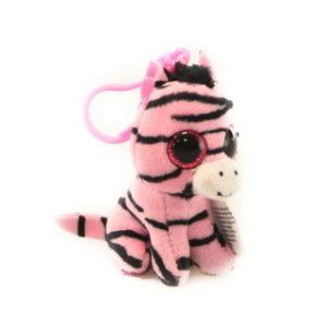 Beanie Boss ZOEY clip 8,5 cm - zebra