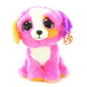 Beanie Boos PRECIOUS 24 cm - růžový pes