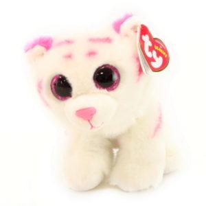 Beanie Babies TABOR 15 cm - bílý tygr