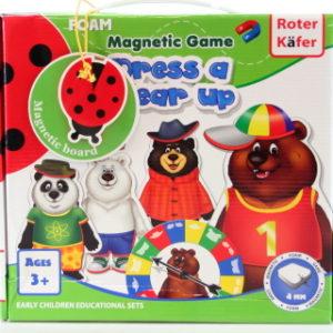 Magnetická hra Oblékání medvědů