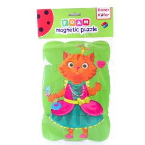 Magnetické puzzle kočka