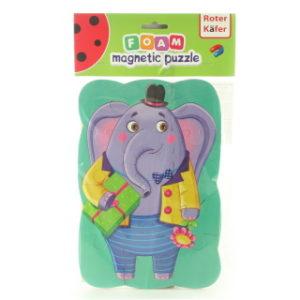 Magnetické puzzle slon