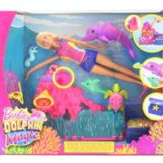 Barbie Magický delfín hrací set FCJ29