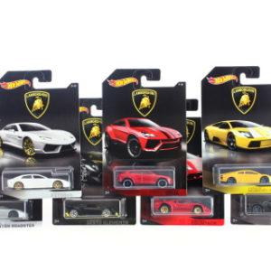 Hot Wheels Tématické auto - Lamborghini DWF21