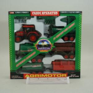Sada traktorů